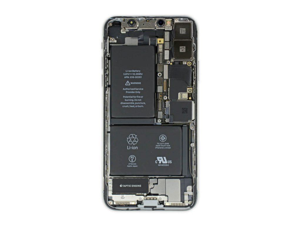 El secreto del iPhone X su batería