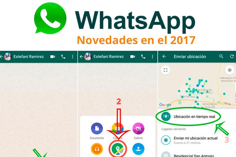 Nueva actualización de Whatsapp 2017