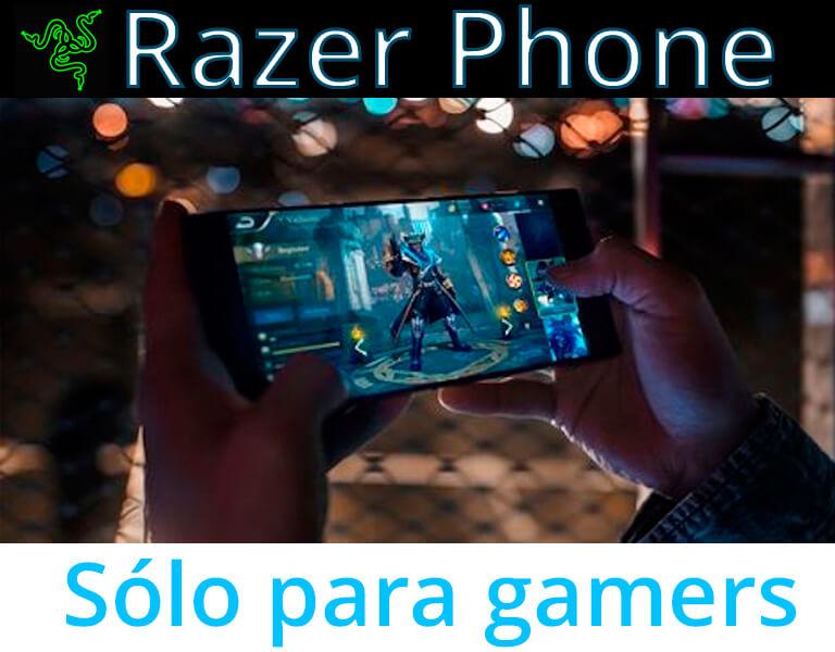 Razer Phone: un smartphone sólo para gamers