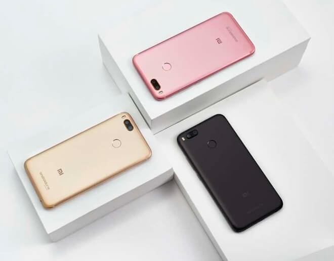 Xiaomi Mi A1 - en cajas