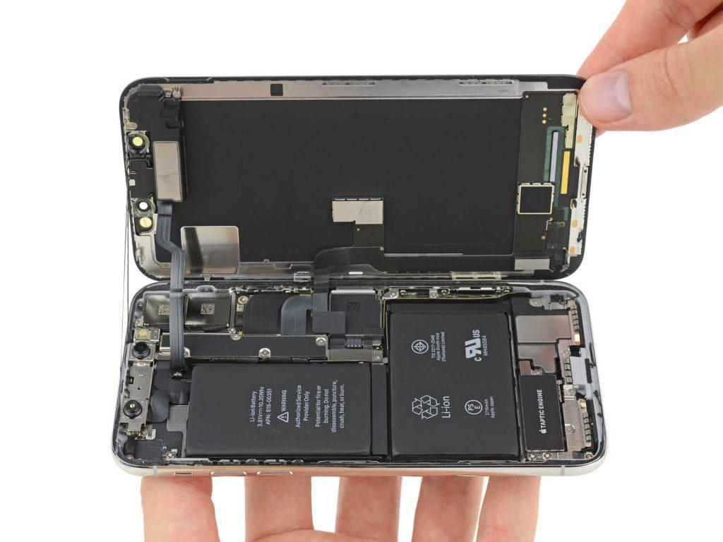 bateria en L del iphone X