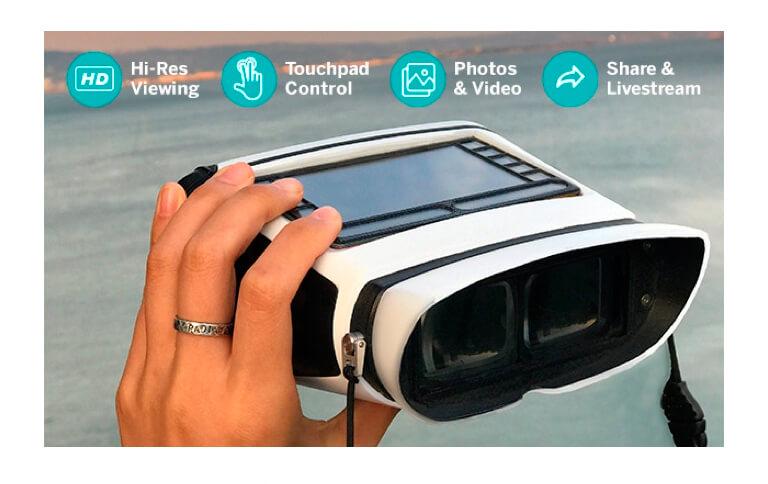 ¿Binoculares para Smartphones? Conoce EyeQ