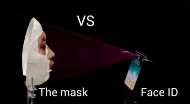 Desbloquean un iPhone X con una simple máscara casera