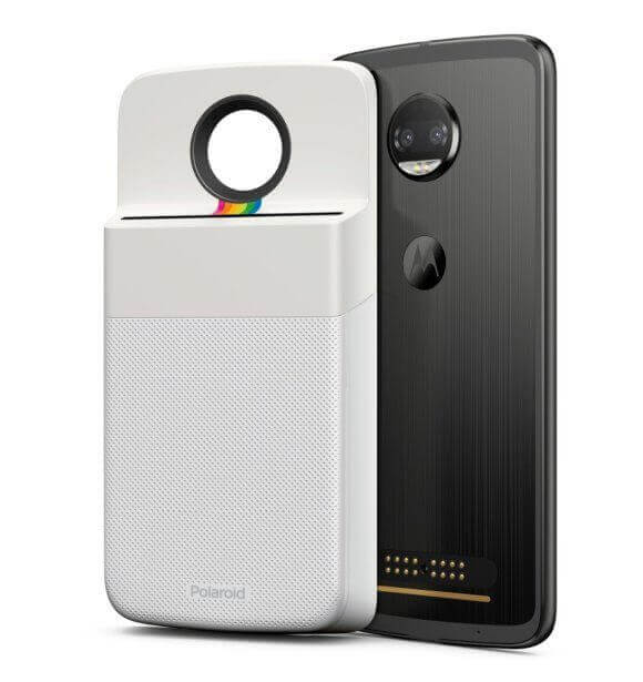 motorola moto mods polaroid instashare printer
