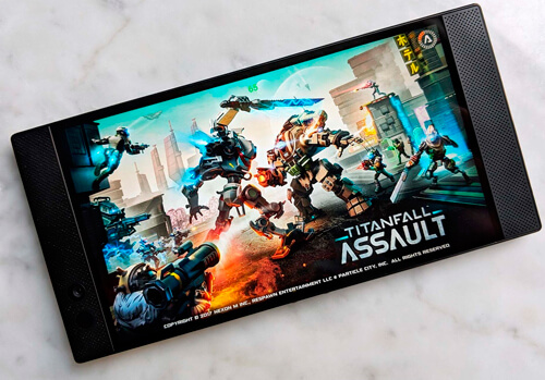 razer phone - titanfall assault
