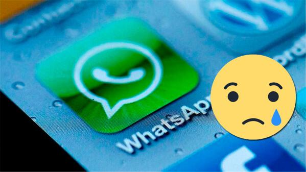 whatsapp - adios en el 2017