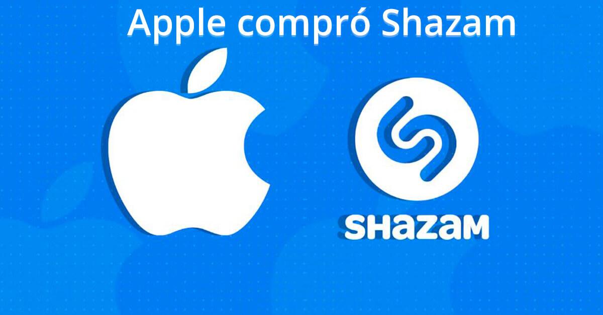 Shazam, la app para reconocer música ahora es de Apple