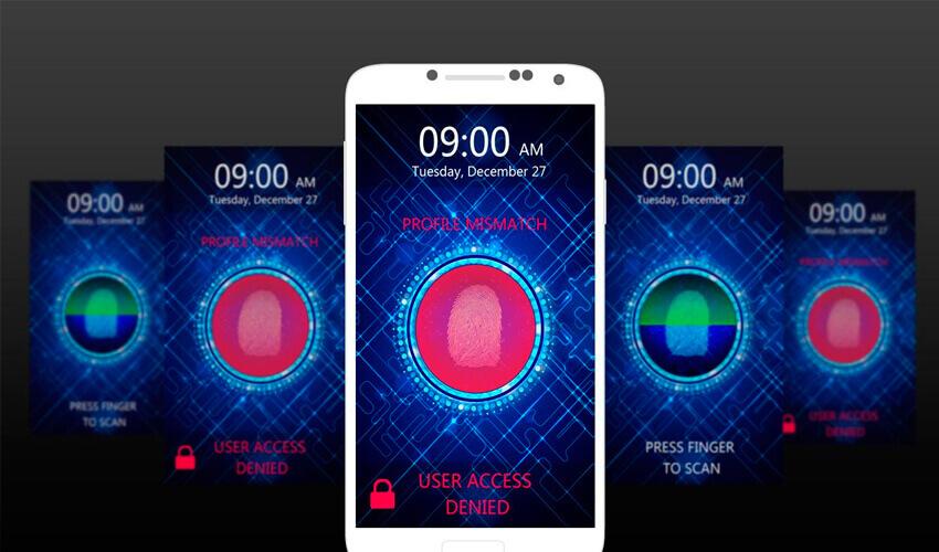 Smartphones con lectores de huella en pantalla