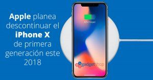 iphone x descontinuado 2018