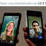 Cómo hacer una video llamada en el LG X Screen