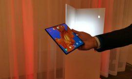 MWC 2019: Huawei afirma tener el teléfono 5G plegable más rápido del mundo