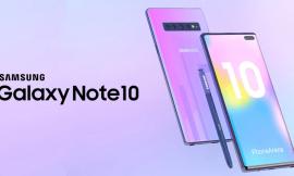 Galaxy note10 pro de Samsung contará con pantalla de 19:9 de acuerdo a filtraciones