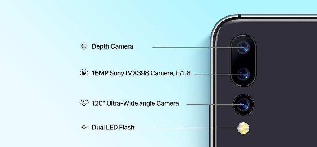 Smartphone con triple cámara UMIDIGI A5 PRO se lanza con gran regalo