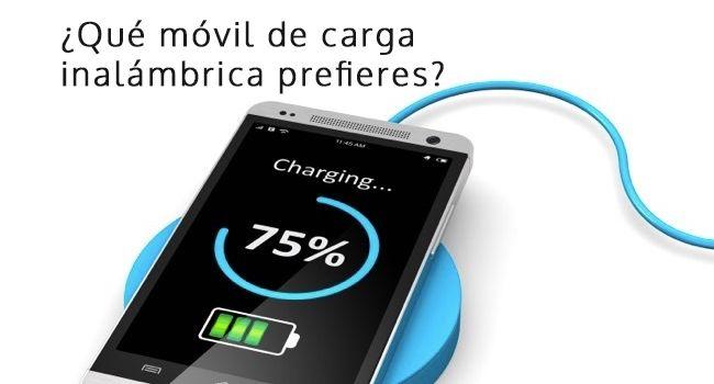 ¿Qué móviles tienen carga inalámbrica en el 2019?
