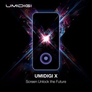 UMIDIGI X indica que el smartphone más asequible con fingeprint en pantalla está a punto de llegar