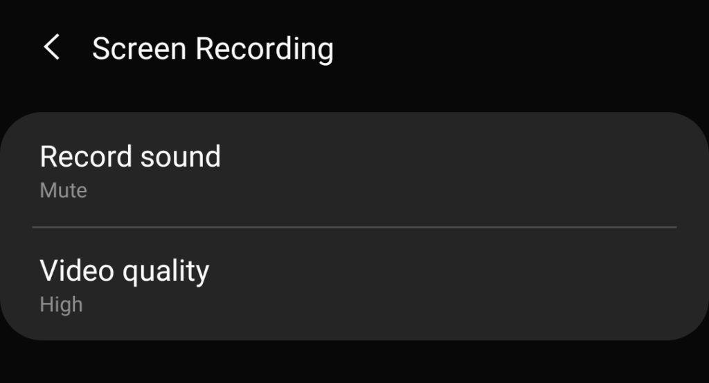 grabar pantalla con el galaxy s10