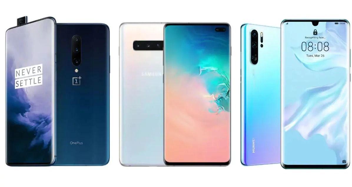 Los 10 mejores smartphones insignia de septiembre de 2019