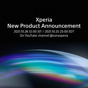Sony Xperia tiene un emocionante anuncio de producto programado para el 26 de octubre